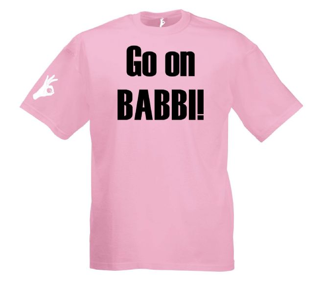 Go On Babbi T-Shirt Simply Loveleh Brotherhood
